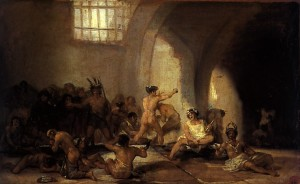 Asylum, by Francisco de Goya,