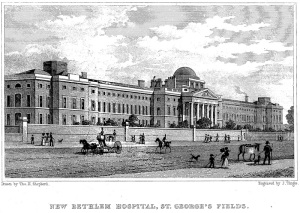 Bethlem Hospital - St. George's Fields