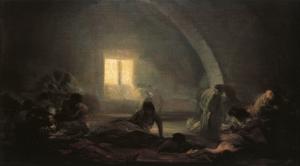 plague-hospital-1800 de goya