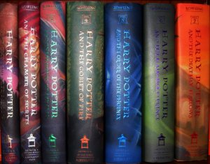 Harry Potter - Seven Original Hardcover Books